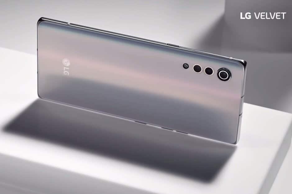 Les spécifications du smartphone LG Velvet 5G divulguées avant son lancement le mois prochain