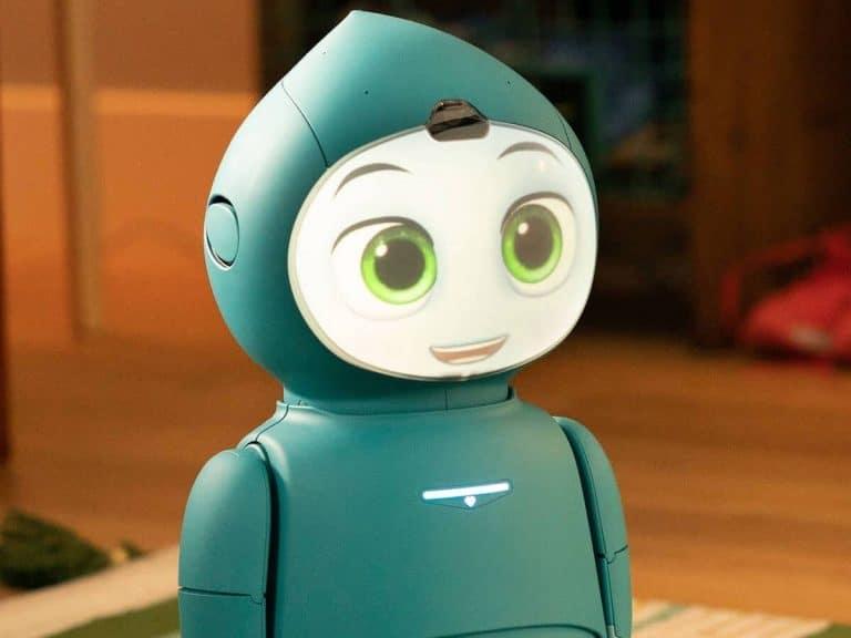 Ce robot de développement de l'enfance est livré avec une application parent