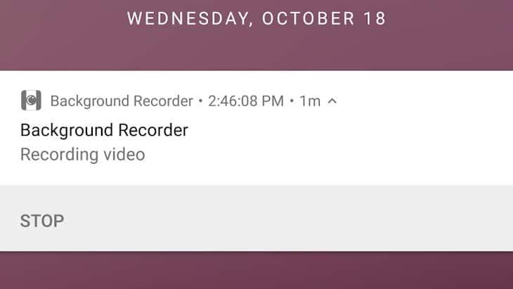 Comment enregistrer de l'audio sur un téléphone Android avec l'écran éteint