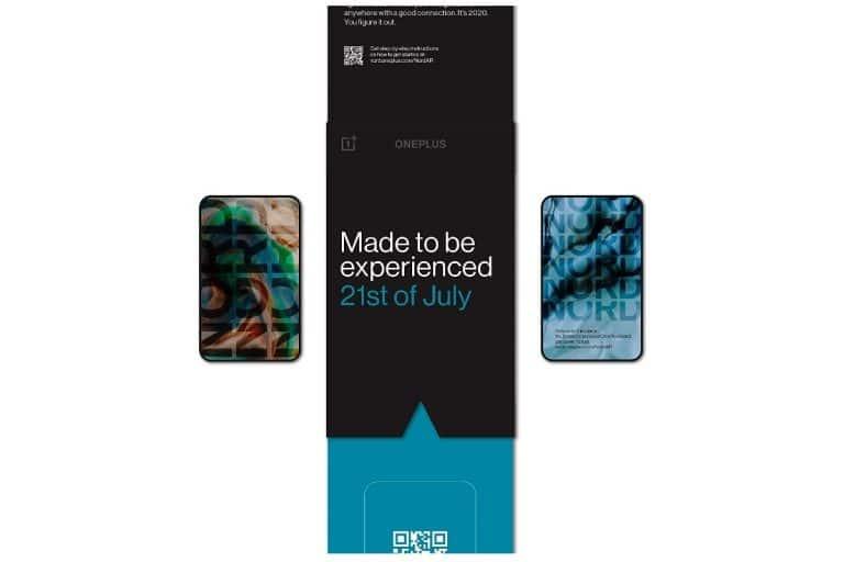 Le lancement de OnePlus Nord AR invite à la vente en Inde chez Rs. 99 avant son lancement le 21 juillet