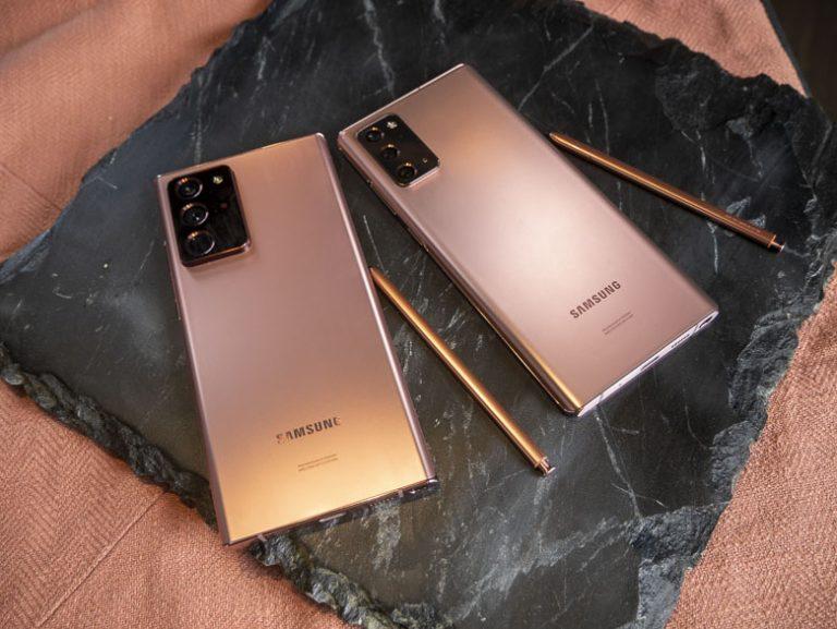 Quelle est la date de sortie du Samsung Galaxy Note20, Galaxy Note20 Ultra?