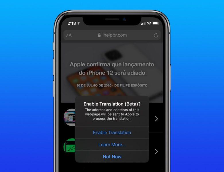 Comment traduire des sites web sur iPhone et iPad avec iOS 14