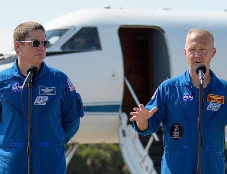 Des astronautes de la NASA chevauchant une capsule SpaceX prêts pour le retour le week-end, si le temps le permet