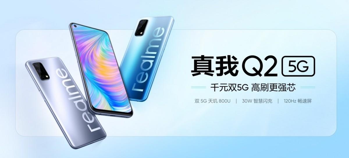 Realme annonce trois smartphones Q2 avec 5G et des prix abordables