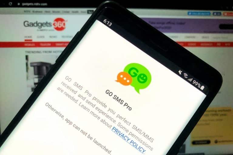 L'application de messagerie Go SMS Pro extraite de Google Play suite à des problèmes de confidentialité