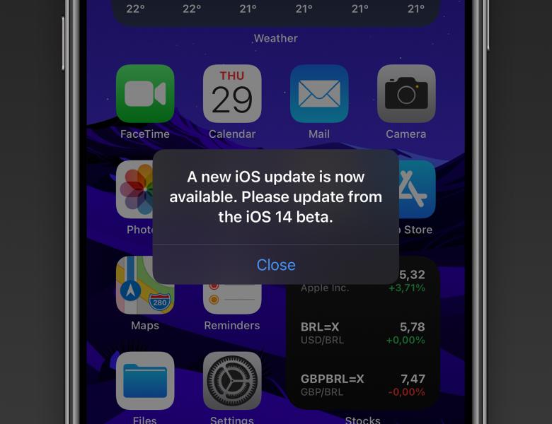 Apple publie iOS 14.2 GM avec un correctif pour l'alerte «nouvelle mise à jour iOS» et plus