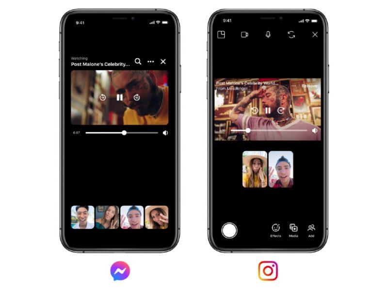 Instagram, Facebook Messenger Get Watch Together, Thème de chat BTS, Fonctionnalités du mode disparaître