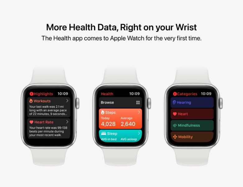Concept: watchOS 8 pourrait introduire de nouvelles applications, de nouveaux visages et des widgets