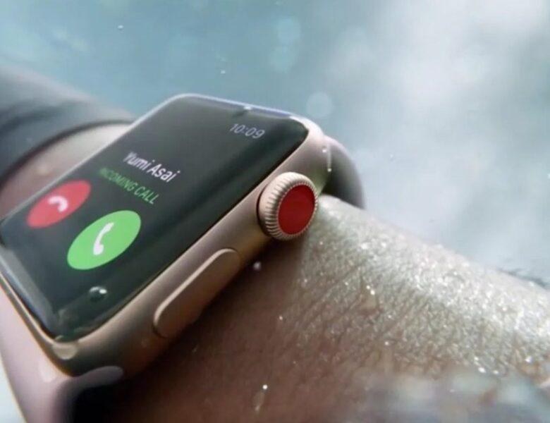 Apple Watch est reconnue pour avoir aidé un cycliste à appeler à l'aide après avoir été emportée dans une rivière inondée