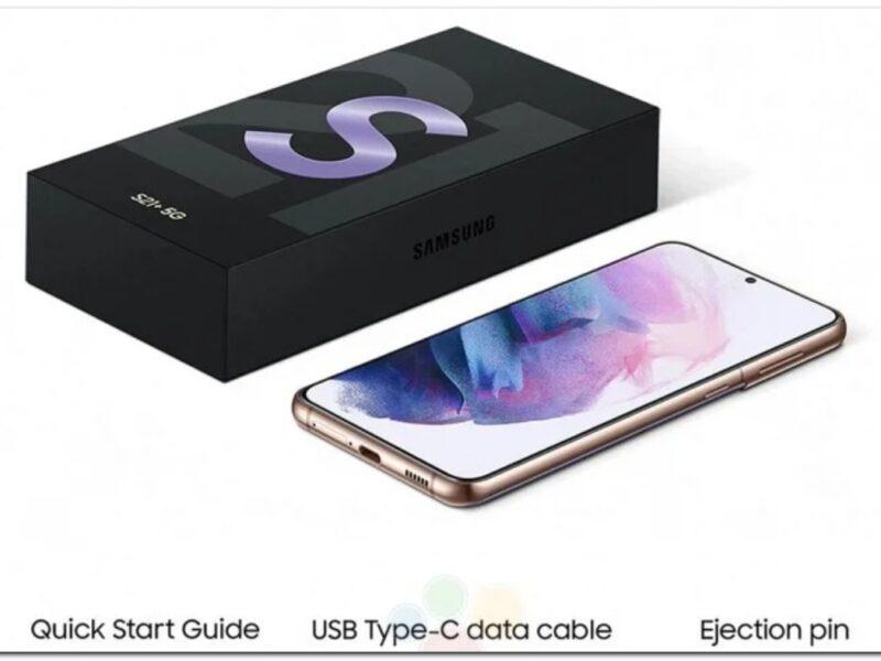 La fuite de la boîte de vente au détail Samsung Galaxy S21 confirme l'absence de chargeur