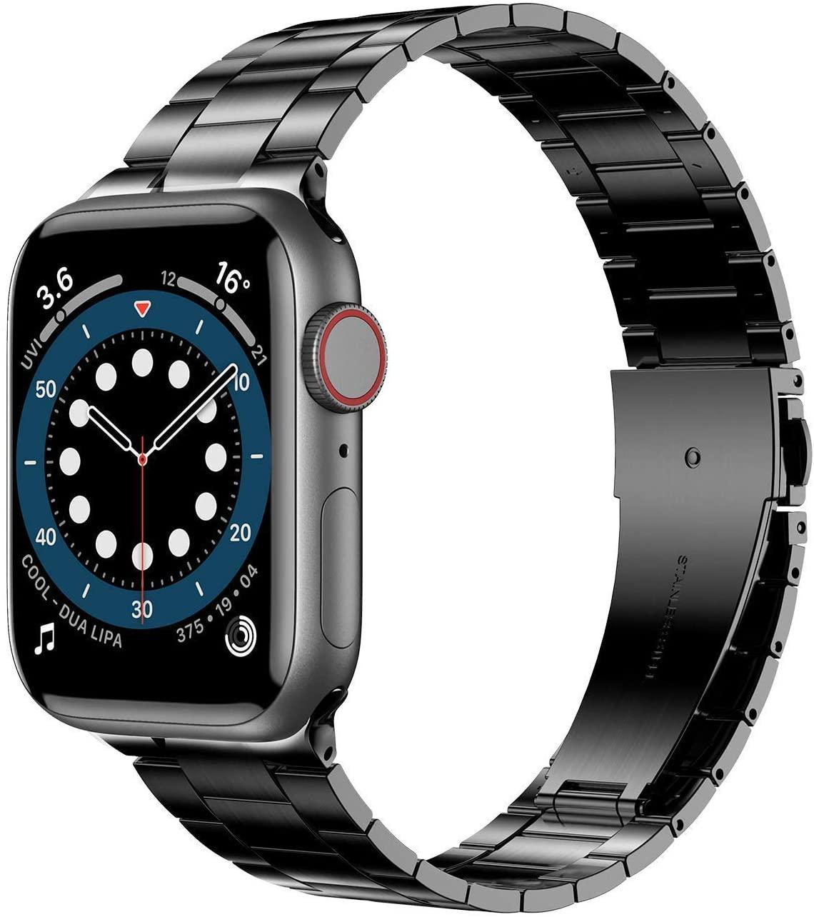 Bracelet Apple Watch en acier inoxydable d'Anwaut