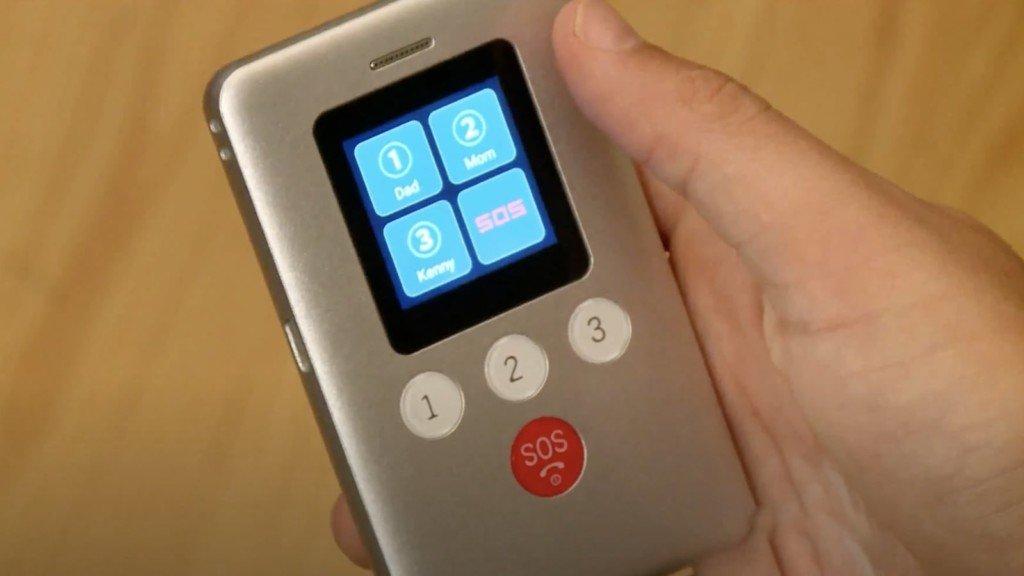 Téléphone traceur GPS KidsConnect KC2 pour enfants