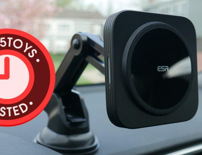 Les supports de charge ESR MagSafe fonctionnent à la maison ou dans la voiture
