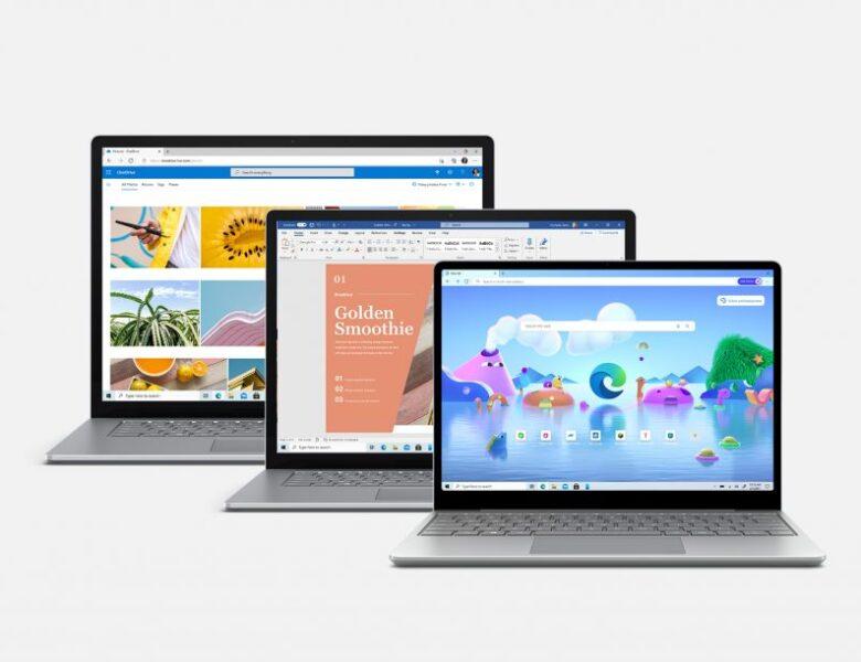 Microsoft lance le Surface Laptop 4 dans les variantes AMD et Intel
