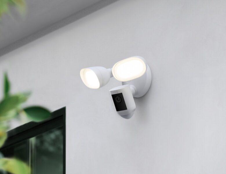La nouvelle caméra pour projecteurs de Ring est dotée d'une technologie de balayage radar »