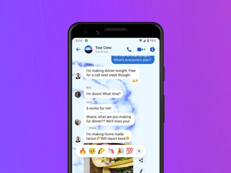 Comment envoyer des images haute résolution sur Facebook Messenger