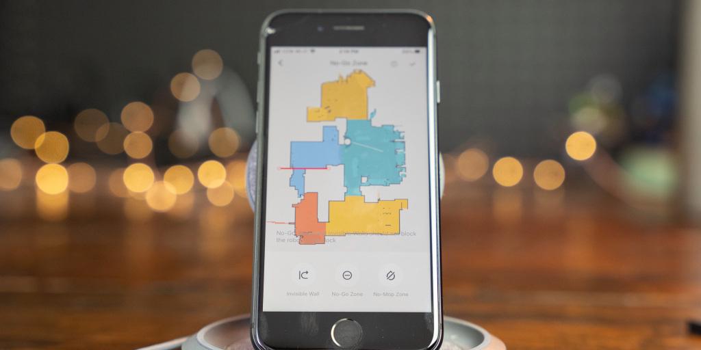 Créer une carte de votre maison est facile avec l'application Roborock.