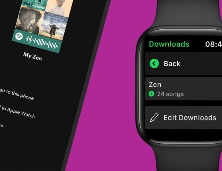 La lecture hors ligne très attendue de l'Apple Watch de Spotify est arrivée