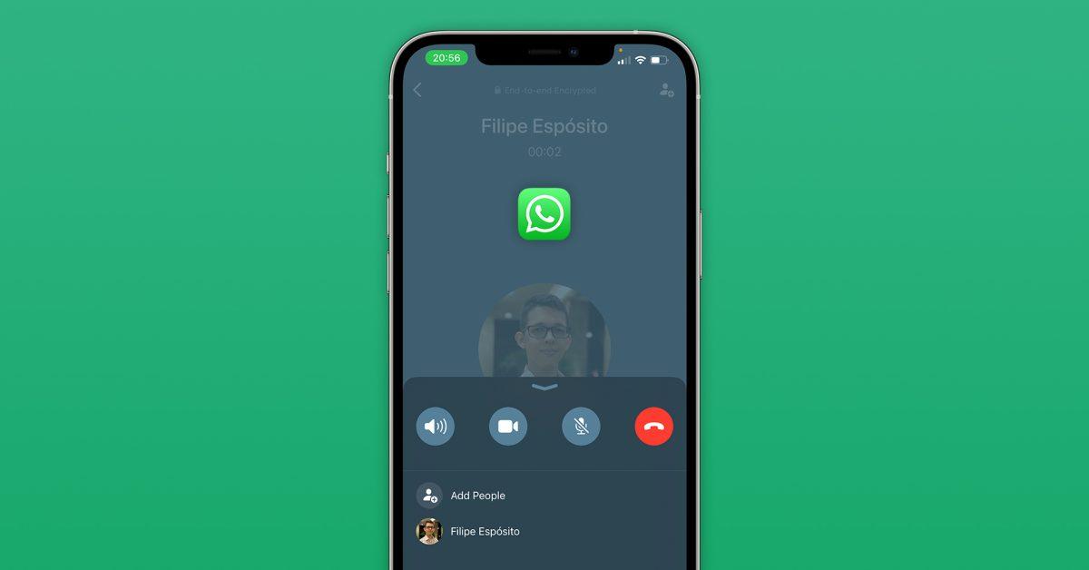 WhatsApp déploie une nouvelle interface d'appel pour les utilisateurs d'iPhone