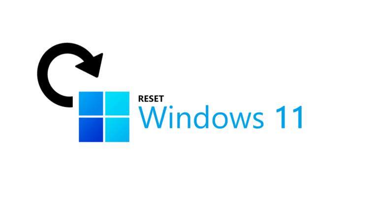 Comment réinitialiser rapidement Windows 11 sans perdre de fichiers