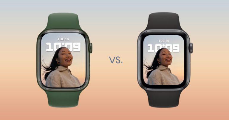 Apple Watch 7 vs 6 et versions antérieures : comparaison approfondie